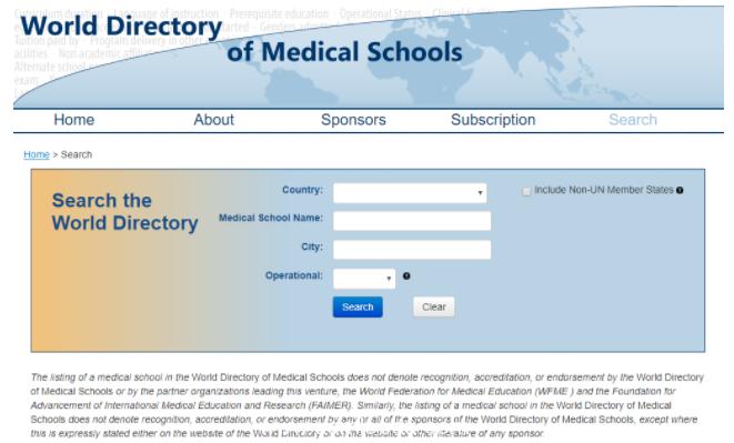USMLE承认的中国医学院有哪些,ECFMG名单查询方式